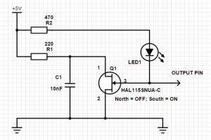 Hall Effect Switch Circuit Diagram