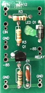 Relay Driver with LED Assembled PCB