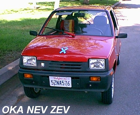 2017 Red OKA NEV ZEV